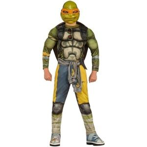 Other - ninja turtle costume medium micky orange turtle